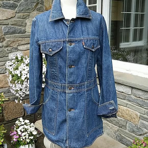 f65e0555e7e Levi s Jackets   Blazers - Levi s Rare vintage jean work chore jacket